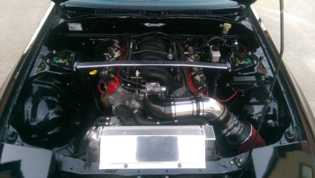Rx7 FC LS1 5 7L Conversion V8 with T56 6-Speed Transmission Swap for