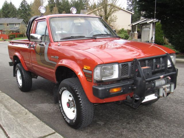 sell no resever sell worldwide 1983 toyota pickup 4x4 22r lomiles rust free sr5 for sale. Black Bedroom Furniture Sets. Home Design Ideas