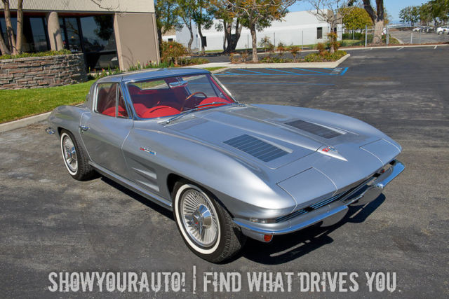 Silver 1963chevroletcorvettels7 V84 Speed Automatic For