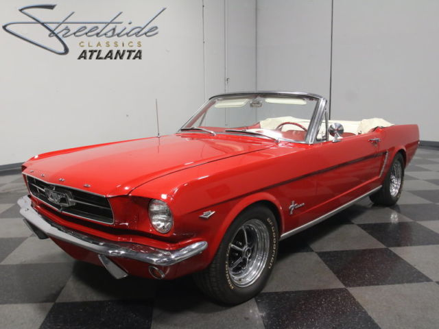 solid drop top pony stock 289 v8 auto pwr steering pwr top ready to cruise for sale ford. Black Bedroom Furniture Sets. Home Design Ideas
