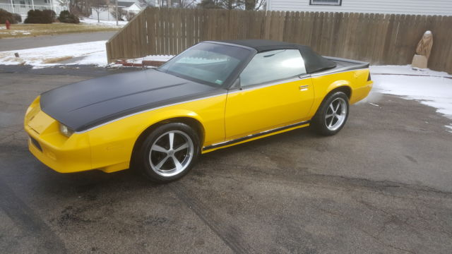 special edition 1987 Camaro Convertible *cammed LS swapped* for sale