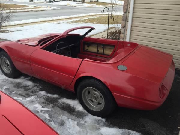 srv12 daytona spyder 365 gtb replica kit car kitcar jaguar corvette tr7 ferrari for sale other. Black Bedroom Furniture Sets. Home Design Ideas