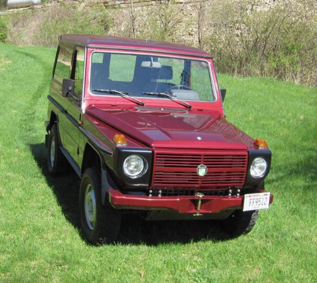 steyr puch mercedes 300gd g wagon 1989 2dr swb 4wd diesel 5 speed for sale mercedes benz. Black Bedroom Furniture Sets. Home Design Ideas