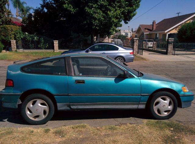 stock 1991 Honda CR-X SI & rebuilt B20 engine w/ LS