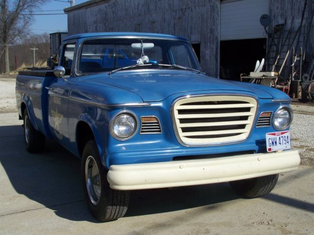 Scrap Car Buyers >> Studebaker Truck 1963Champ for sale - Studebaker Champ 1963 for sale in Marshallville, Ohio ...