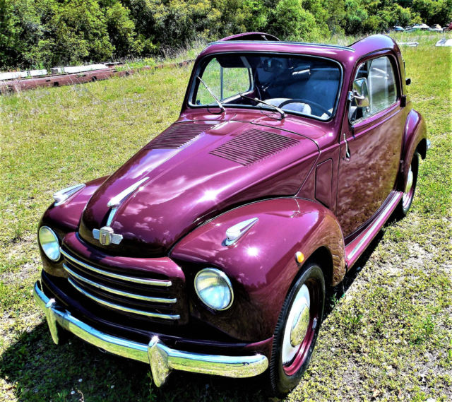 STUNNING 1960 FIAT TOPOLINO 500C For Sale