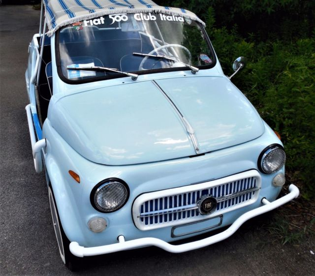 STUNNING 1971 FIAT 500 JOLLY BEACH CAR For Sale