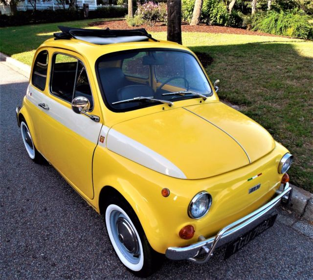 STUNNING 1972 FIAT 500 CINQUECENTO For Sale