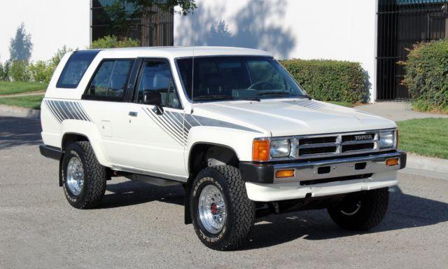 Stunning 1987 Toyota 4Runner, 138k Orig,5spd 22R-E,100% Rust