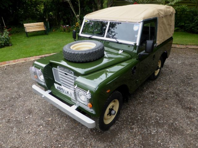 Stunning Land Rover Series 3 Petrol Soft Top 88 Quot For Sale