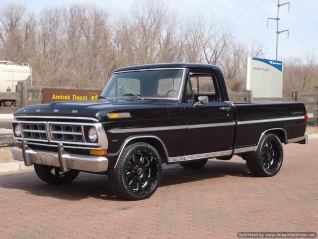 super cool f100 shop truck fresh 460 a c short bed sport custom for sale ford f 100 1971. Black Bedroom Furniture Sets. Home Design Ideas