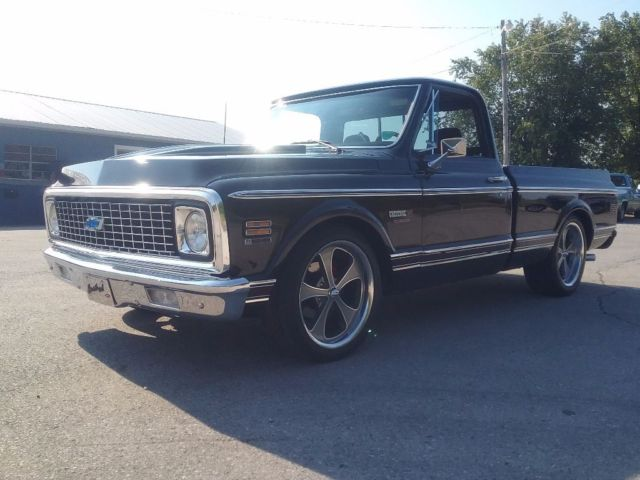 super nice 1972 chevy c 10 with ls engine for sale chevrolet c 10 1972 for sale in bee spring. Black Bedroom Furniture Sets. Home Design Ideas