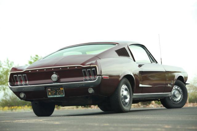 1968 Mustang X Code