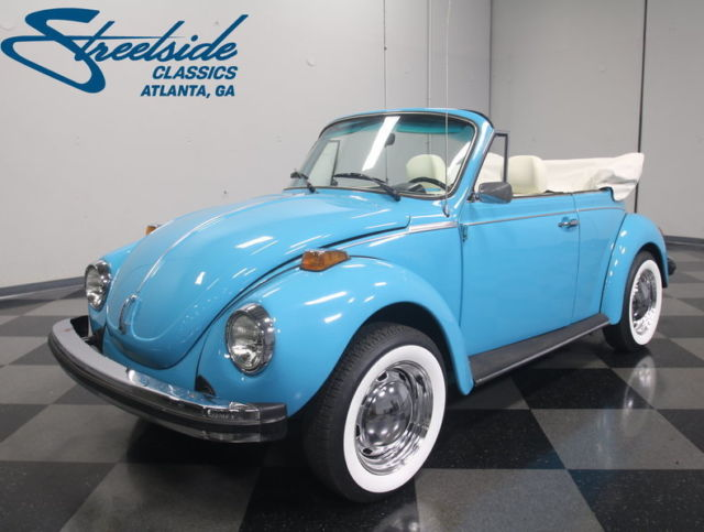 superclean beetle drop top great resto 1600cc flat 4 4 speed ready 2 cruise for sale. Black Bedroom Furniture Sets. Home Design Ideas