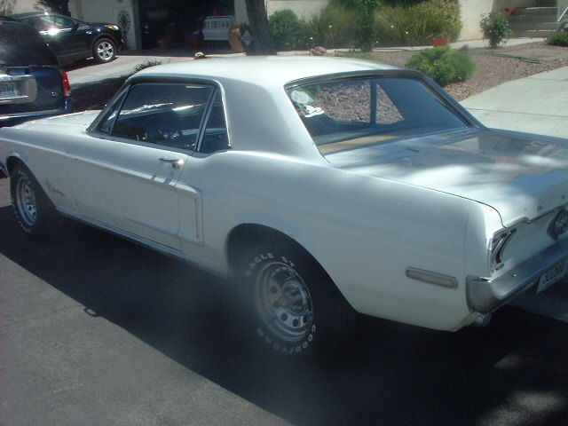 survivor 1968 mustang coupe for sale ford mustang coupe 1968 for sale in las vegas nevada. Black Bedroom Furniture Sets. Home Design Ideas