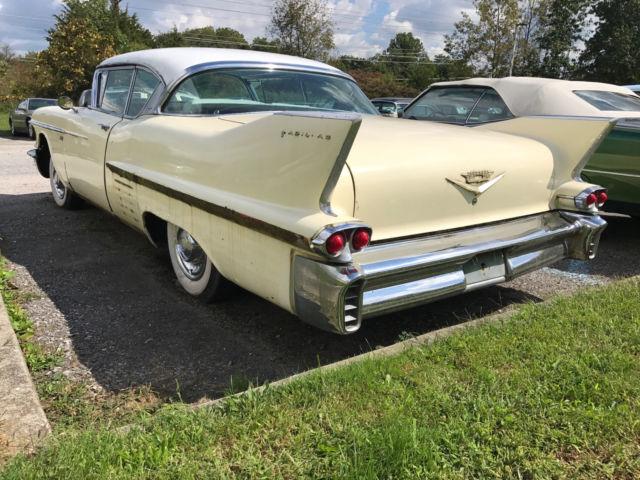 Survivor Semi Restored Rare 1958 Cadillac Series 62 Coupe