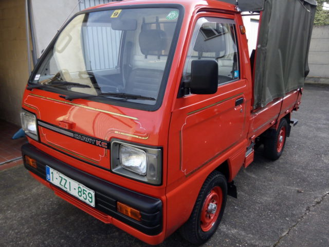 suzuki carry kc 4x4 mini truck time warp condition for sale suzuki other carry kc delux 4x4. Black Bedroom Furniture Sets. Home Design Ideas