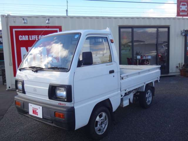 64d8d4a83f92c2 Suzuki Carry Mini Truck 660cc 4WD 4MT ATV UTV Off-Road Japanese Free  Shipping