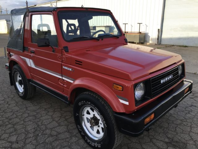 Suzuki Samurai X For Sale California