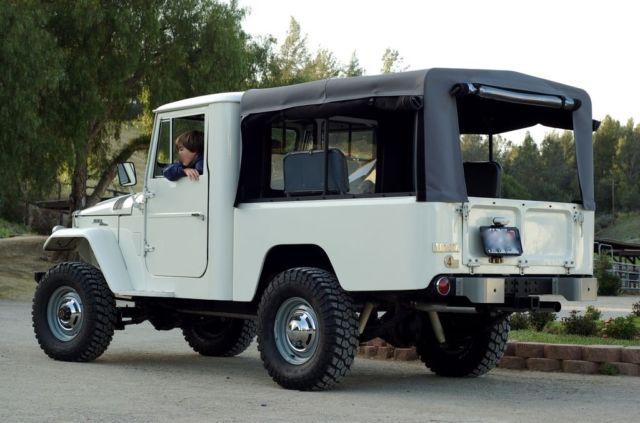 Toyota Land Cruiser FJ45 Short Bed Pickup Resto Mod New SBC V8, FJ40