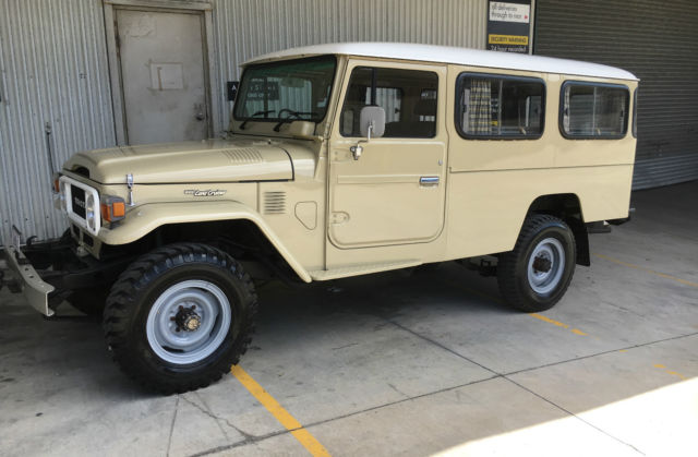 Toyota Landcruiser Fj45 Troop Carrier Genuine 80000