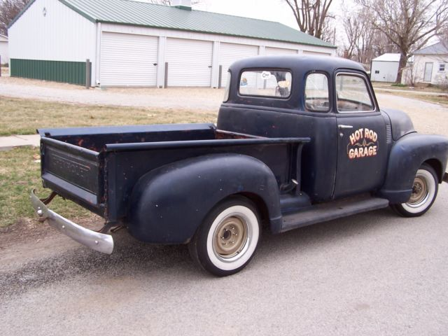 Truck 1948 chevy deluxe 5 window 3100 project rat rod for 1948 5 window chevy truck sale