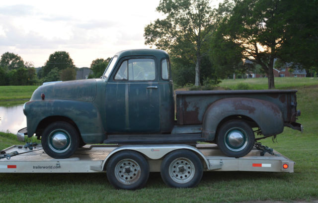 True barnfind 1952 chevrolet 3100 swb 5 window pickup for 1952 chevy 3100 5 window for sale
