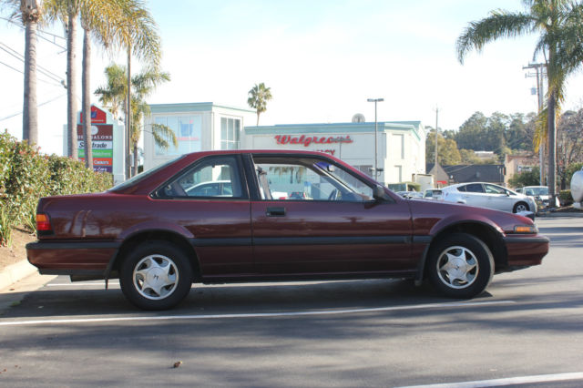 Truly collectible close to show room condition 1988 honda accord with 93000 ml for sale honda