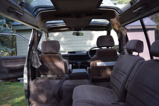 turbo diesel 4x4 import extensive maintenance 112 500 miles vin cm400039848 for sale. Black Bedroom Furniture Sets. Home Design Ideas