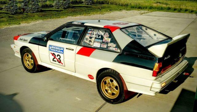 turbo quattro rally car for sale audi quattro 1983 for sale in freeland michigan united states. Black Bedroom Furniture Sets. Home Design Ideas