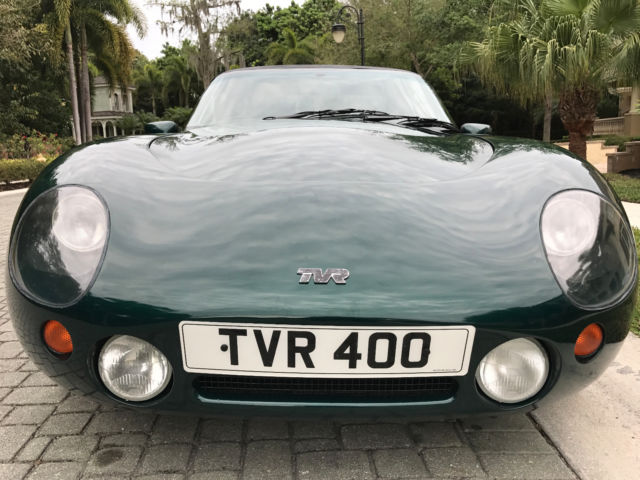 tvr griffith 400 rhd 1992 rare pre cat model v8 5 speed manual florida title for sale other. Black Bedroom Furniture Sets. Home Design Ideas