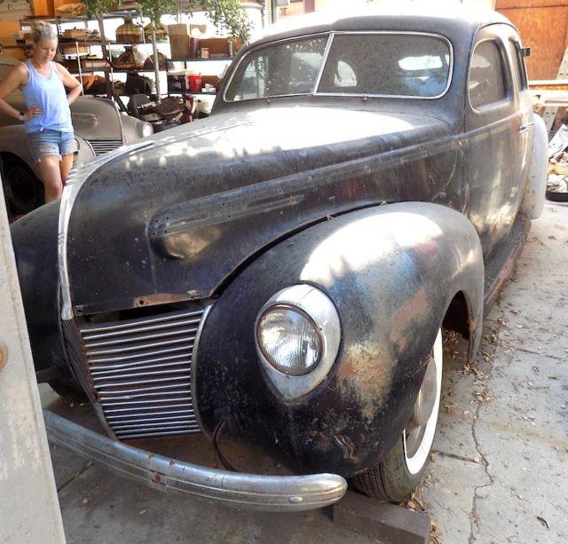 Two (2)1939 Mercury, Orig. California Cars Resto Started