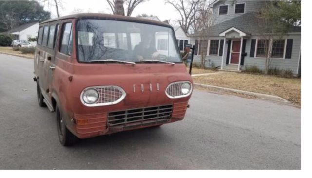 52a947ed86 UPDATED 1964 Ford Econoline van for sale - Ford E-Series Van Falcon 1964  for sale in Austin