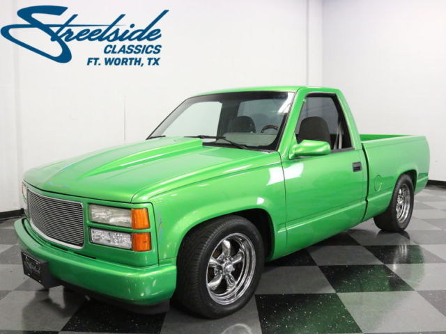 very clean build w ls1 swap beautiful paint lots of custom touches air bags for sale gmc sierra 1500 restomod 1992 for sale in local pick up only davids classic cars