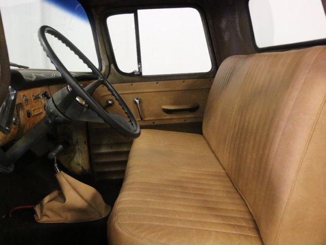 very cool patina look 283 v8 auto pwr steer brakes w frt disc gr8 interior for sale. Black Bedroom Furniture Sets. Home Design Ideas