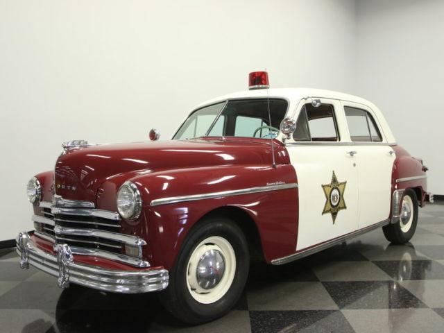 very cool police car w light siren 350 v8 auto great driver nostalgic fun for sale. Black Bedroom Furniture Sets. Home Design Ideas