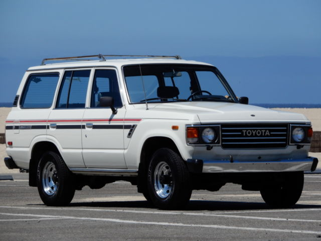 Vintage 1 Owner 1985 Toyota Land Cruiser FJ60 4WD - Daily