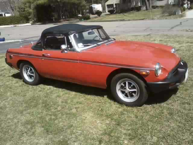 vintage 1976 mgb convertible for sale mg mgb 1976 for sale in easthampton massachusetts. Black Bedroom Furniture Sets. Home Design Ideas