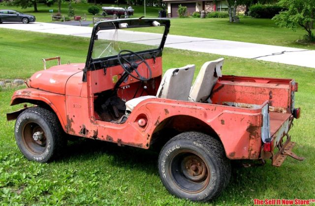 vintage barn find 1962 willys jeep cj5 cj 5 project willy 39 s project for sale jeep cj cj5. Black Bedroom Furniture Sets. Home Design Ideas