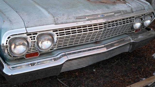vintage classic rare 1963 chevrolet chevy 4 door sedan low mileage v8 engine for sale. Black Bedroom Furniture Sets. Home Design Ideas