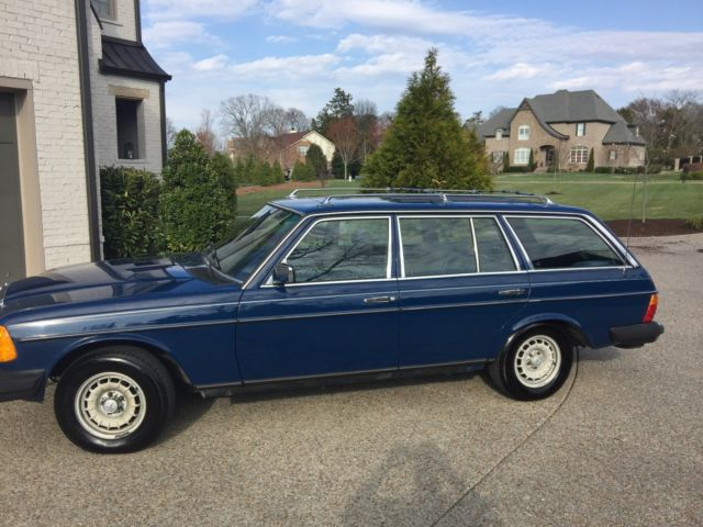 vintage mercedes turbo diesel wagon for sale mercedes