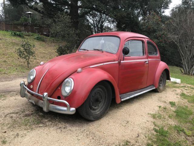 Volkswagen 1959 Bug Euro Type 1 Model Semiphores For