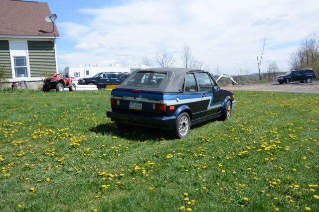 VOLKSWAGEN CABRIOLET CONVERTIBLE 1989 for sale - Volkswagen Cabrio 1989 for sale in Olyphant ...