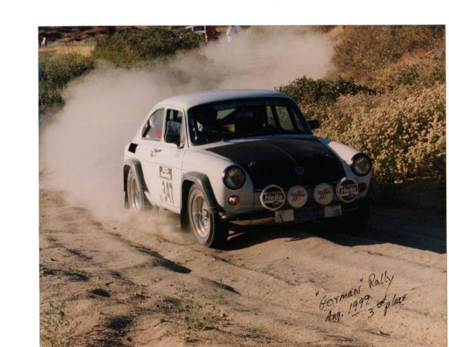 volkswagen fastback rally car  sale volkswagen type iii type  fastback   sale
