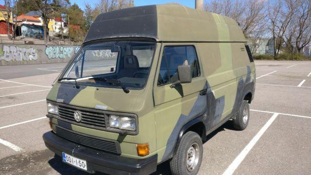 Volkswagen T25 Transporter Syncro High Top for sale