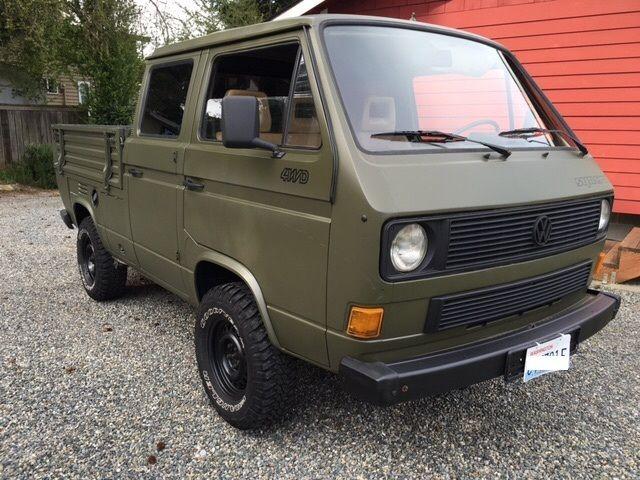 volkswagen transporter doka syncro 4wd crewcab pickup. Black Bedroom Furniture Sets. Home Design Ideas