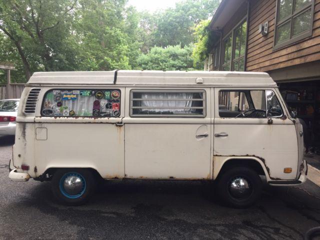 volkswagen vw bus vanagon camper rv 1972 for sale volkswagen bus vanagon 1972 for sale in. Black Bedroom Furniture Sets. Home Design Ideas