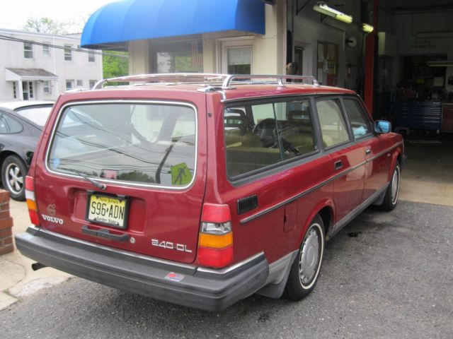 volvo 1986 245 wagon for sale volvo 240 1986 for sale in fair haven new jersey united states. Black Bedroom Furniture Sets. Home Design Ideas