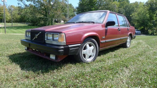 Volvo 740 Turbo -1987 - ONE OWNER SINCE NEW - VOLVO