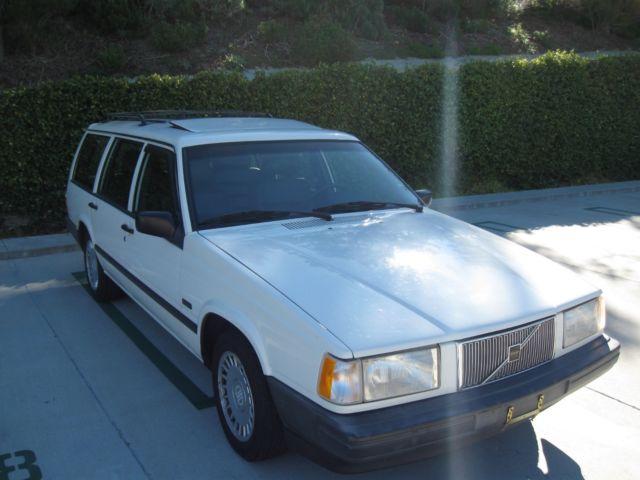 volvo 740 wagon 7 seats non turbo 96k california car 1 owner for sale volvo 740 1992 for. Black Bedroom Furniture Sets. Home Design Ideas